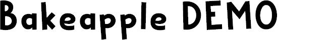 Preview image for Bakeapple DEMO Regular