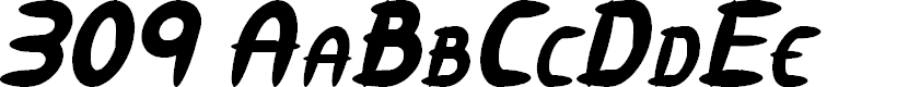 Preview image for 309 Italic
