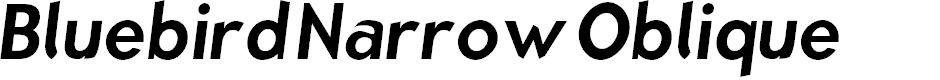 Preview image for Bluebird Narrow Oblique