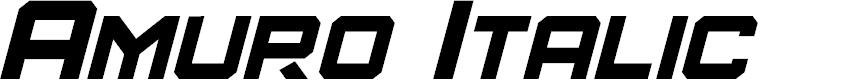 Preview image for Amuro Italic
