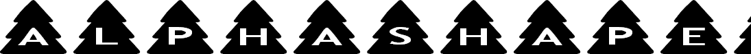 Preview image for AlphaShapes xmas trees
