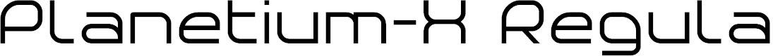 Preview image for Planetium-X Regular Demo