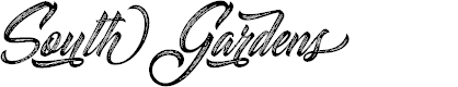 Preview image for South Gardens Personal Use Font