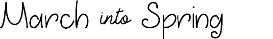 Preview image for March into Spring Font