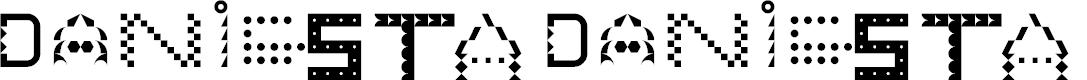 Preview image for DANNIESTA Regular Font