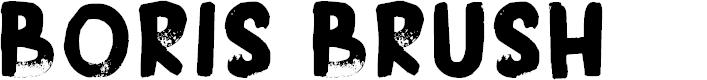 Preview image for DK Boris Brush Font