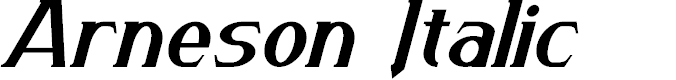 Preview image for Arneson Italic