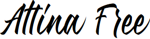 Preview image for Attina Free Font
