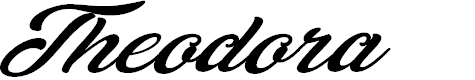 Preview image for Theodora Personal Use Regular Font