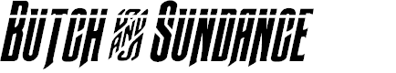 Preview image for Butch & Sundance Bullet Italic