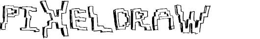 Preview image for PixelDraw Font