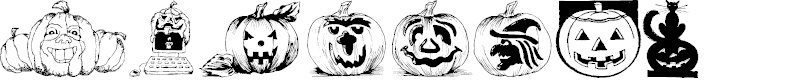 Preview image for Punkins Font