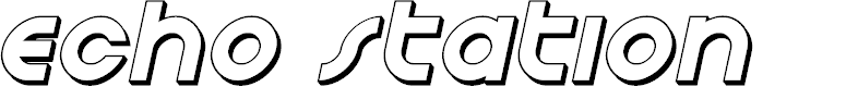 Preview image for Echo Station 3D Italic