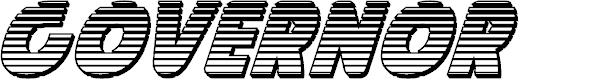 Preview image for Governor Chrome Italic
