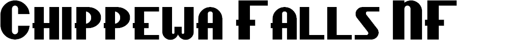 Preview image for ChippewaFallsNF Font