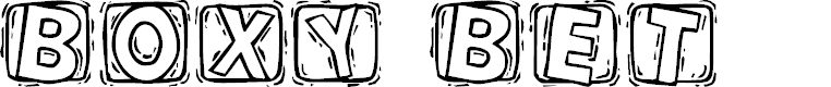 Preview image for 101! BoXY 'Bet Font