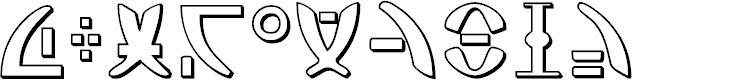 Zeta Reticuli Font - FontSpace