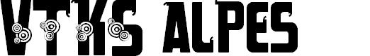 Preview image for VTKS alpes Font