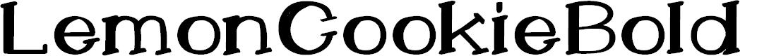 Preview image for LemonCookieBold Font