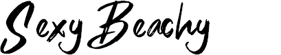 Preview image for Sexy Beachy Font