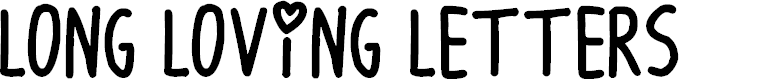 Preview image for Long Loving Letters Font