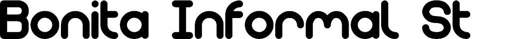 Preview image for Bonita Informal St Font
