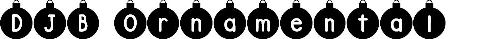 Preview image for DJB Ornamental Font