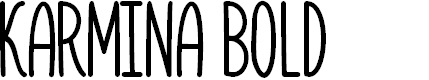 Preview image for Karmina Bold
