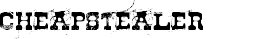 Preview image for Cheapstealer Font