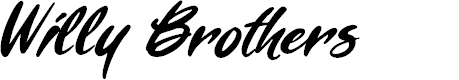 Preview image for Willy Brothers Font