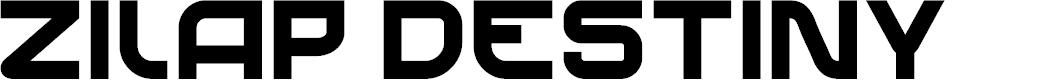 Preview image for Zilap Destiny Font
