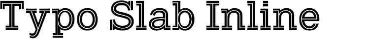 Preview image for Typo Slab Inline Demo