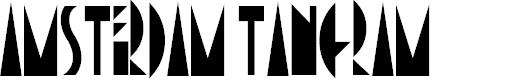 Preview image for AmsterdamTangram Font