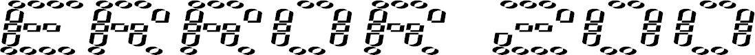 Preview image for error 2000 Font