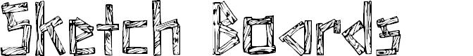 Preview image for SketchBoards Font