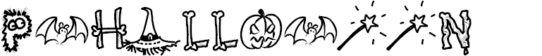 Preview image for PWHalloween Font
