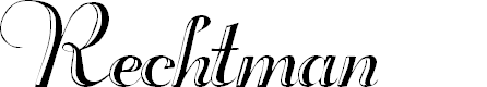 Preview image for Rechtman Plain Font