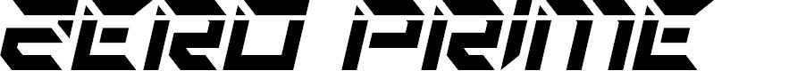 Preview image for Zero Prime Laser Italic