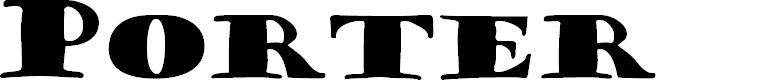Preview image for Porter Regular Font