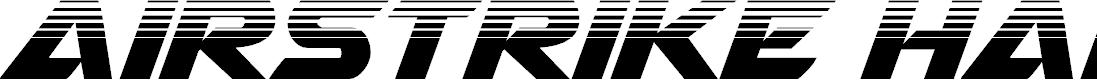 Preview image for Airstrike Half-Tone Regular