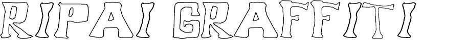Preview image for Ripai Graffiti Font