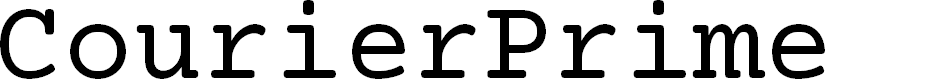 Preview image for CourierPrime Font