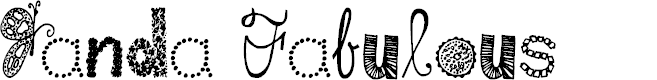 Preview image for Janda Fabulous Font