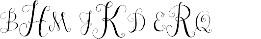 Preview image for Janda Stylish Monogram Font