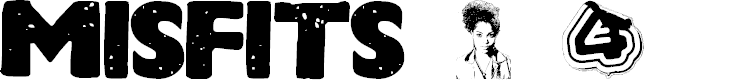 Preview image for MISFITS Font