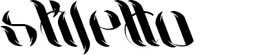 Preview image for UniLeaf Italic Font