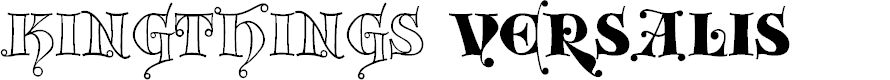 Preview image for Kingthings Versalis Font