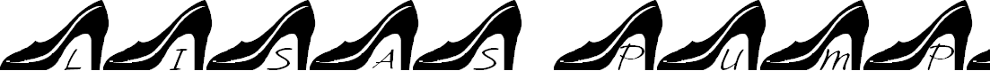 Preview image for LCR Lisa's Pumps Font
