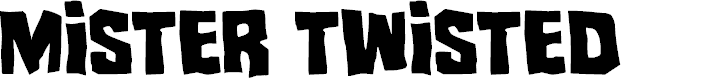 Preview image for Mister Twisted Font