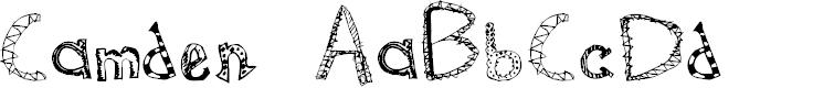Preview image for Camden Regular Font
